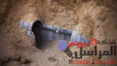 اكتشاف نفق حديدي لأول مرة على حدود غزة