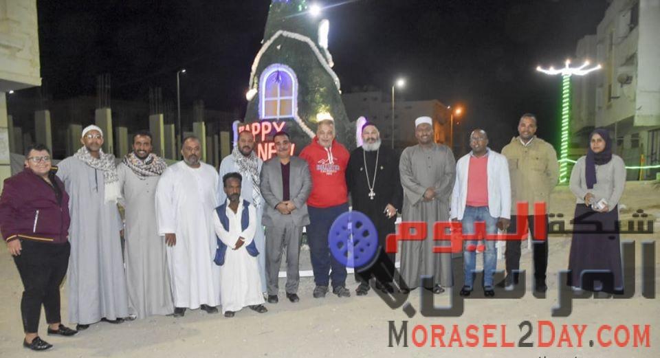 بالصور….مستقبل وطن يزور كنيسة العذراء بمرسي علم