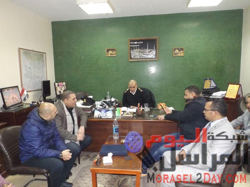 ****  الحرية المصرى يشارك أبطال الشرطة في عيدهم الثمانى والستون  ****