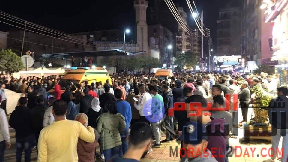 محاولة سباق تاكسي تصيب عشرات المواطنين بجروح خطيره .. بشبين الكوم