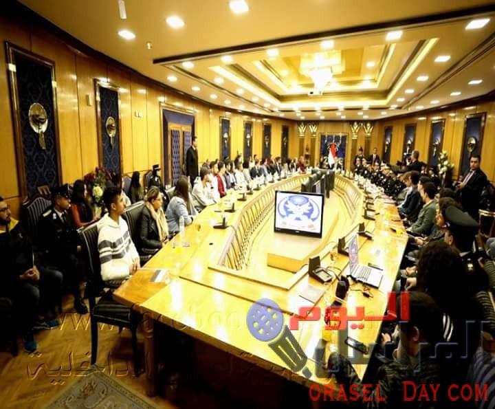 وزارة الداخلية تقيم إحتفالية بحضور كافة أطياف المجتمع  والجهات الأمنية