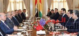 عبد المهدى وقادة إقليم كردستان يعلنون رفضهم تحويل العراق إلى ساحة للصراع الإقليمى