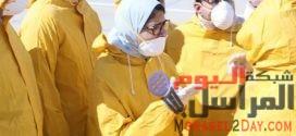 وزيرة الصحة بمطار العلمين لمراجعة الإجراءات الوقائية لاستقبال المصريين القادمين من الصين