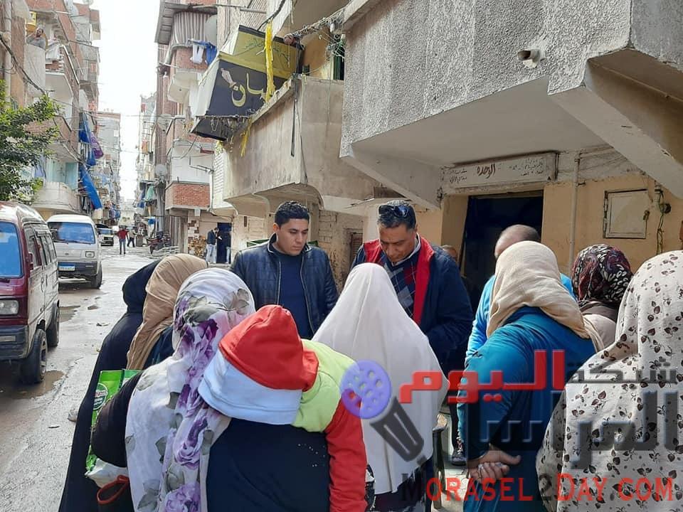 """""""مستقبل وطن"""" يبحث مشاكل أهالي منطقة عزبة المطابع بالإسكندرية"""