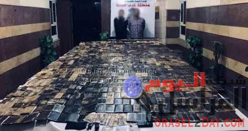 ( ضبط إثنين من العناصر الإجرامية بالإسكندرية وبحوزتهما 100 كيلو جرام لمخدر الحشيش)