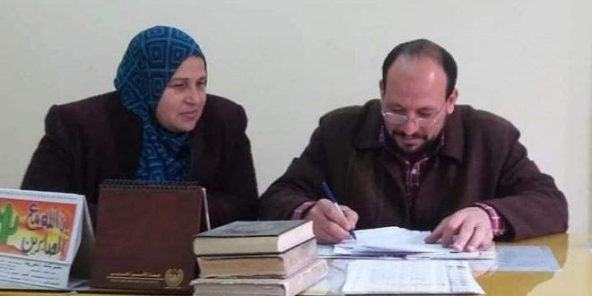 ضبط ١٢٠ كيلو لحوم خارج السلخانه وتلاعب بوزن الرغيف فى حملة تموينية بمركز ومدينة أجا