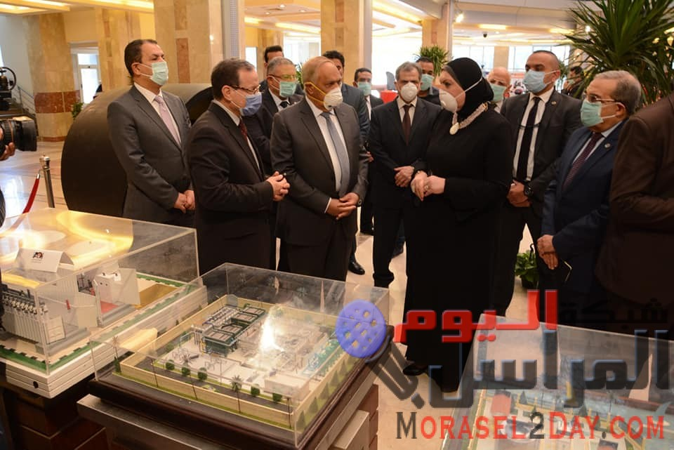 وزيرة التجارة والصناعة ورئيس الهيئة العربية للتصنيع يبحثان تعزيز التعاون المشترك لتنفيذ خطة الدولة لتعميق التصنيع المحلي واحلال الواردات
