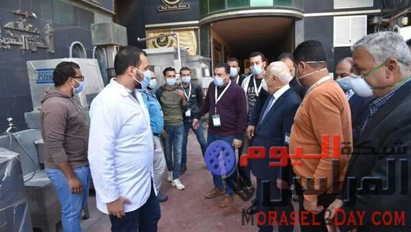 محافظ بورسعيد يتفقد مصنع الحسن والحسين بالمنطقة الصناعية