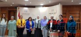"""""""العربي لسيدات الأعمال"""" يلتقي نفيين القباج لبحث سبل التعاون ودعم خطط الدولة ."""