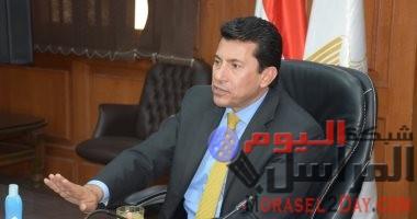 وزير الرياضة: تطوير بورسعيد رياضيا يقربنا من سيناء وتأثرنا بمسلسل الاختيار