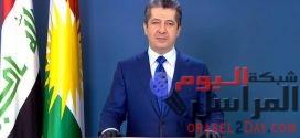 مسرور بارزاني: إقليم كردستان يمر بظرف إستثنائي.. وخطة حكومية لمواجهة جائحة كورونا