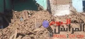 انهيار عقار بمدينة سوهاج بدون حدوث اصابات