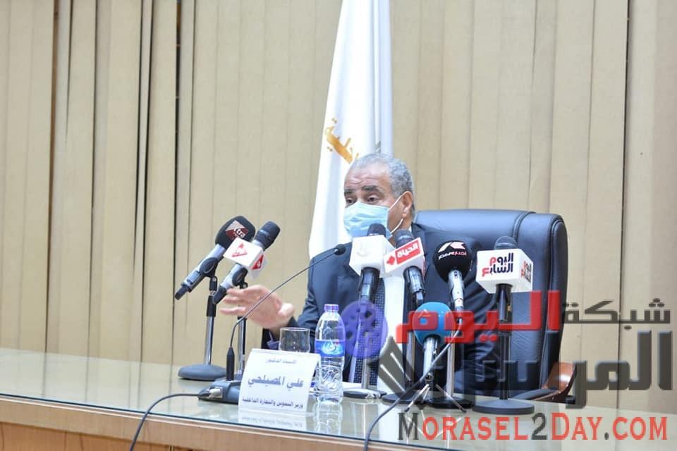 وزير التموين : تلقى  2000 طلب لتسجيل العلامات التجارية شهريا