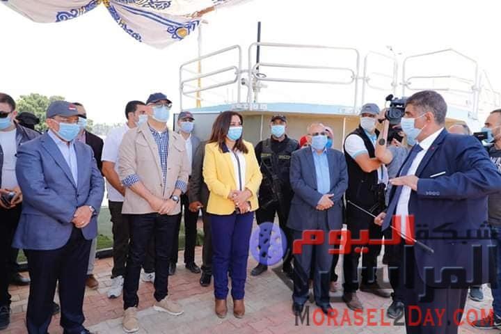 """محافظ دمياط: محطة معالجة صرف صحي """"رأس البر"""" تُعد من أهم المشروعات التى تم تنفيذها"""