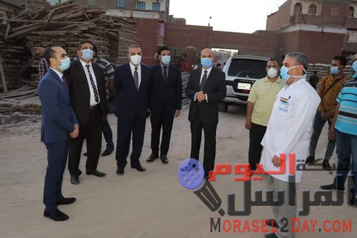 """محافظ سوهاج يفتتح مدرسة """"أبو بكر الصديق"""" بمشطا.طما.سوهاج"""