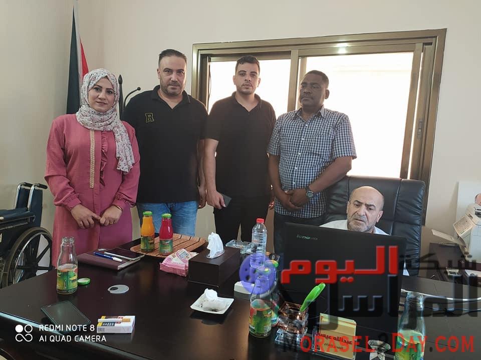 أكاديمية سفراء السلام الدولية فرع فلسطين..تزور مؤسسة دنيا الوطن الاعلامية