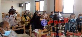 إدارة المتوطنة بالفيوم تواصل التدريبات على أعمال المسح الميداني للبلهارسيا
