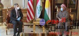 بارزاني للسفير الأمريكي: نقدر إهتمام صناع القرار لدى بلادكم بالعراق وكردستان
