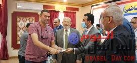 نادي قارون يكرم أبطاله  بحضور مجلس إدارة النادى ونائب المحافظ