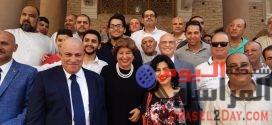 """إستقبال حافل من قرية ناهيا لمرشحى"""" حزب مستقبل وطن """""""