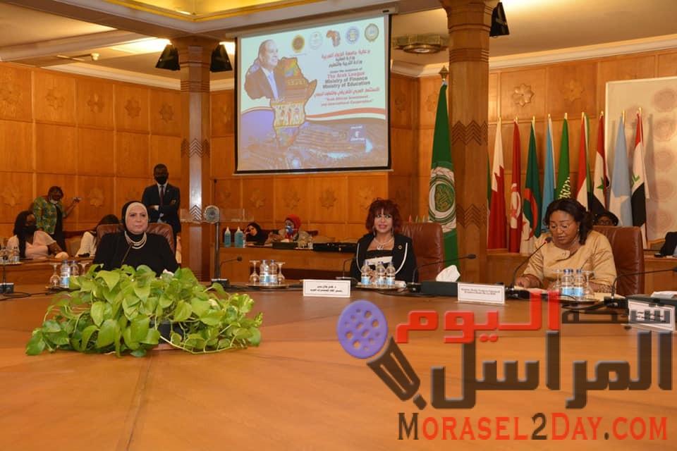 """وزيرة التجارة والصناعة تفتتح اعمال الدورة الثالثة والعشرين لمؤتمر ومعرض """"الاستثمار العربي الإفريقي والتعاون الدولي"""""""