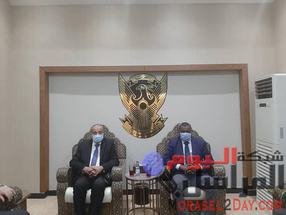 وزير التموين يغادر الخرطوم بعد زيارة إستغرقت يومين