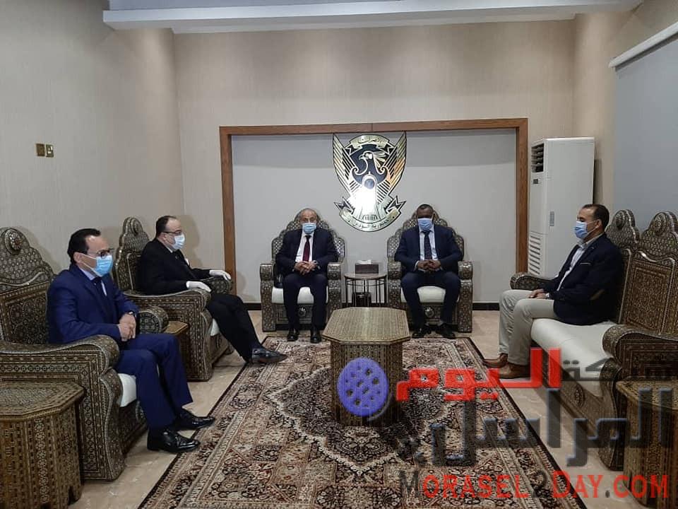 المصيلحى يبحث سبل التعاون بين مصر والسودان فى مجال السلع الاستهلاكية