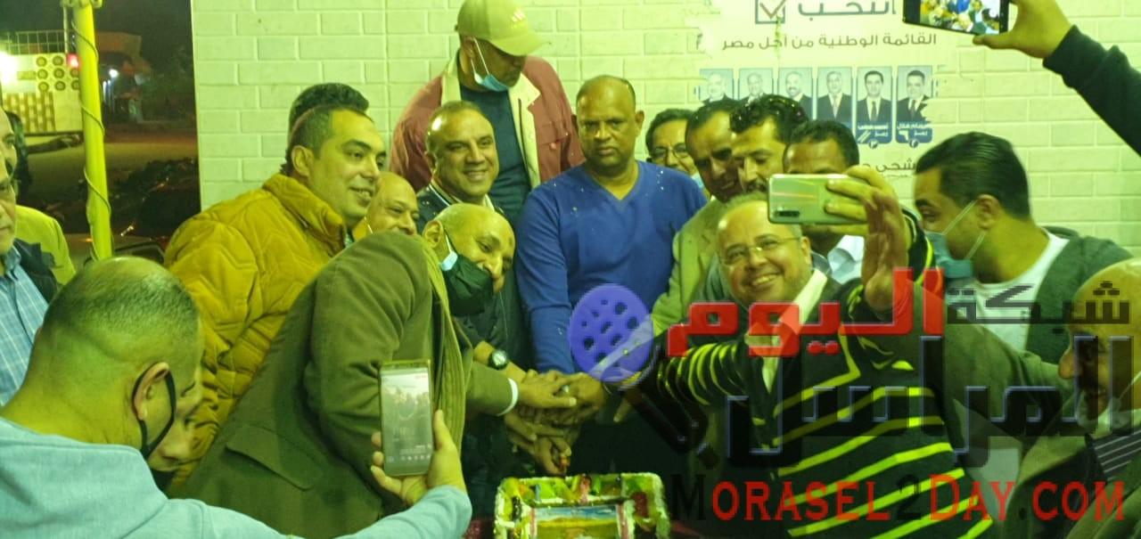 بالــصور..أهالى إمبابة تشارك حزب مستقبل وطن فى الإحتفال بعيد ميلاد النائب وليد المليجى