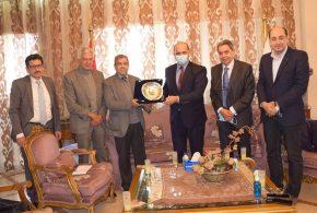 رئيس اتحاد الغرف التجارية يستقبل سفير تونس لبحث سبل جديدة لزيادة العلاقات الاقتصادية الثنائية