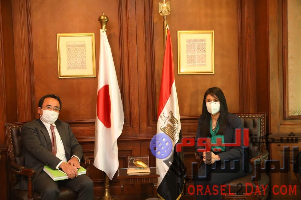 وزيرة التعاون الدولي تلتقي المدير الإقليمي للجايكا في أول زيارة رسمية لمصر وتبحث مجالات التعاون المشتركة والتوسع في المشروعات المستقبلية