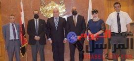 الوزير المفوض الاقتصادي بالسفارة يزور غرفة القاهرة مباحثات مصرية جورجية لزيادة حجم التبادل التجاري والاستثماري المشترك.
