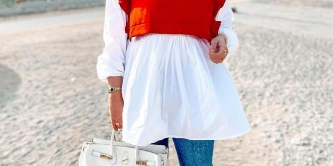 آية أشرف: المحجبات يمكنهم تنسيق ملابسهم في الصيف بهذه الخطوات