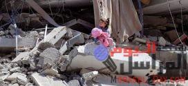 """صورة """"طفلة الركام"""" في محاولة طموحة لجمع مساعدات لأطفال غزة"""