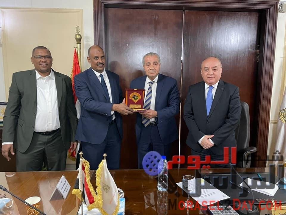 وزارة التموين … استعراض استراتيجية الشركة المصرية السودانية، والتي تساهم فى زيادة التبادل التجاري بين مصر والسودان.