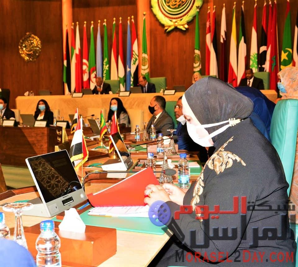 وزيرة التجارة والصناعة تترأس وفد مصر في الاجتماع الوزارى للمجلس الاقتصادى والاجتماعى بجامعة الدول العربية
