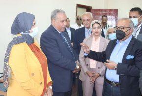 """عشماوي """" يفتتح أول مركز إقليمي للعلامات التجارية والنماذج الصناعية على مستوى الجمهورية بمدينة السويس"""