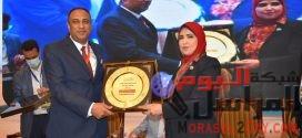 مؤتمر الجهاز الهضمي وأمراض الكبد يكرم النائبة ميرفت عبد العظيم