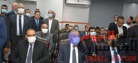 وزير التموين عقب افتتاح  مجمع الخدمات النموذجي  بالشرقية