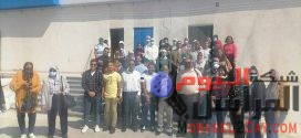 """بالصور ..""""التموين"""" تنظم زيارة ميدانية لدفعة جديدة  من طلاب  جامعة القاهرة  للمنطقة  التجارية /اللوجستية بمدينة طنطا"""