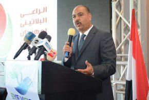 انطلاق مهرجان الوان ملتقى دهانات العرب بالعاصمة الاداريه