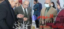 """""""فنون تطبيقية"""" جامعة بدر تبدأ العام الجامعى بافتتاح معرض الأنشطة الطلابية"""
