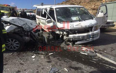 14 قتيل ومصاب من هوارة المقطع في حادث مروع بطريق الواحات