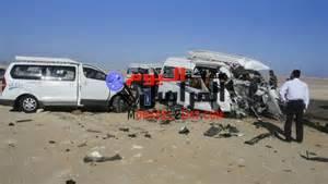 بالصورمصرع 20 شخصا وإصابة 15 آخرين بإصابات خطيرة على طريق ميت غمر .