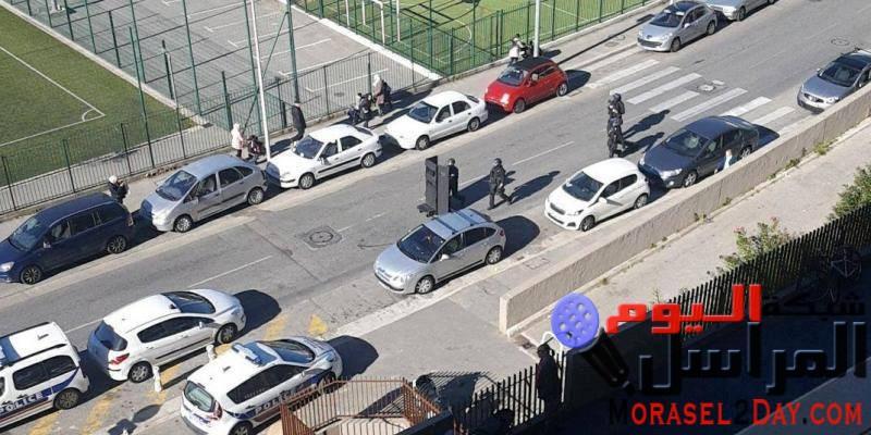 إغلاق شارع في نيس  هواء من بندقية فرنسية .. مشكلة فرنسا اليوم