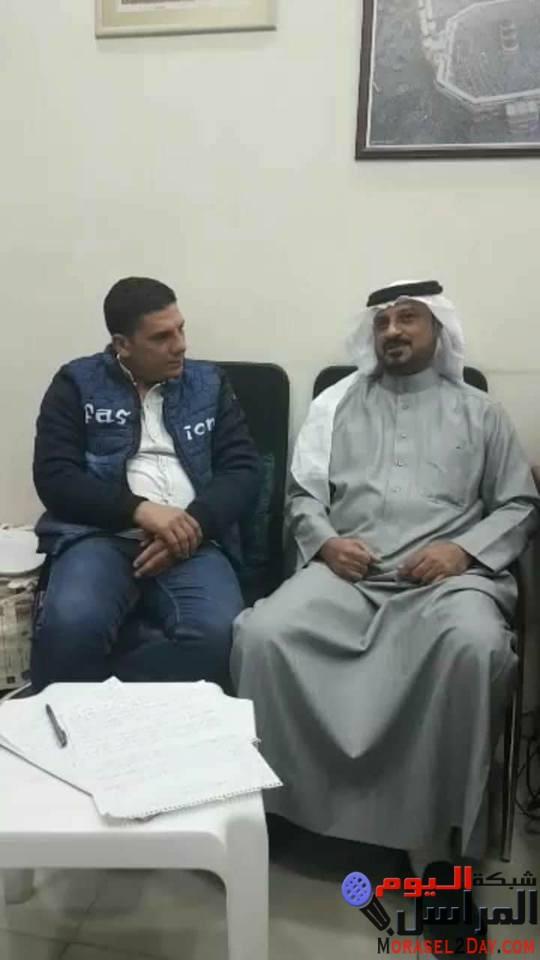 النائى البحرينى إبراهيم الحمادى فى حوار صريح جدا إنتظرة المصريين خلال شبكة المراسل