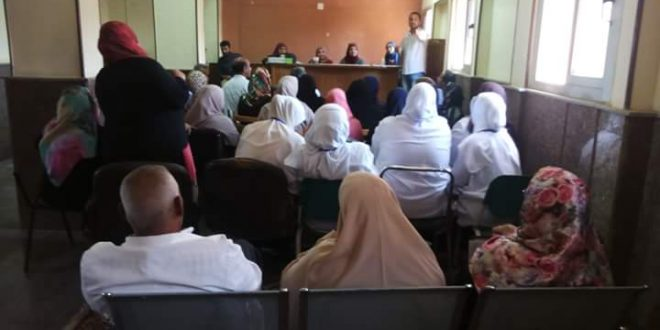"""الجمعية المصرية للتنمية الشاملة تنظم ورشة عمل """" للتوعية ضد مرض السكر """""""