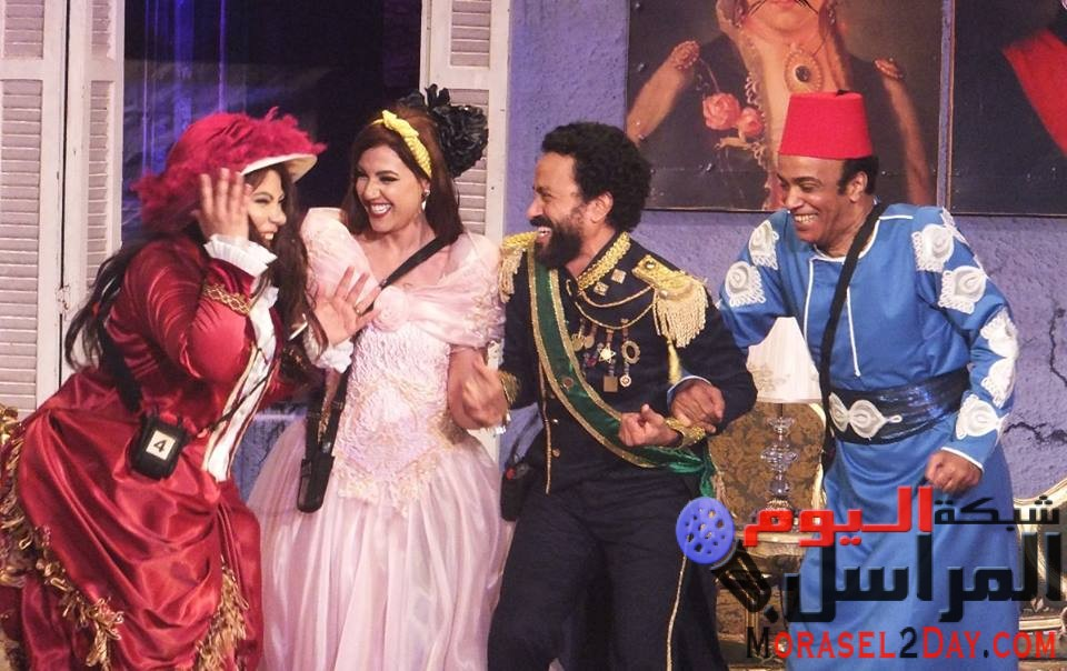 """بالصور..انطلاقة جماهيرية لمسرحية """"عربي منظرة"""" بالاسكندرية"""