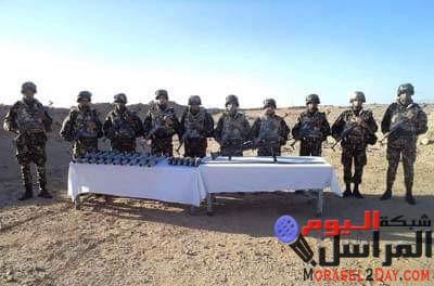النشرة العسكرية حصيلة أسبوع من مكافحة الإرهاب في الجزائر