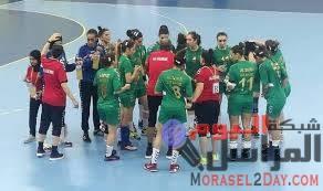 كرة يد إفريقية:  شبلات الجزائر يخسرن أمام المصريات