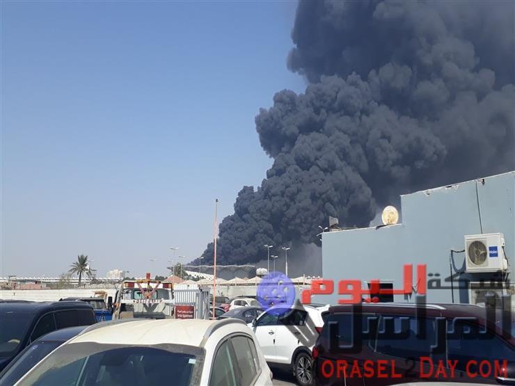 حريق في محطة قطار الحرمين بالسعودية